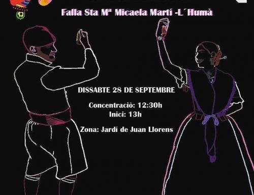 """La falla Santa María Micaela organiza una """"dansà solidaria"""" a beneficio de la fundación MAIDES"""