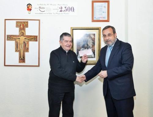 Donación de La Archicofradía del Santísimo Cristo del Salvador