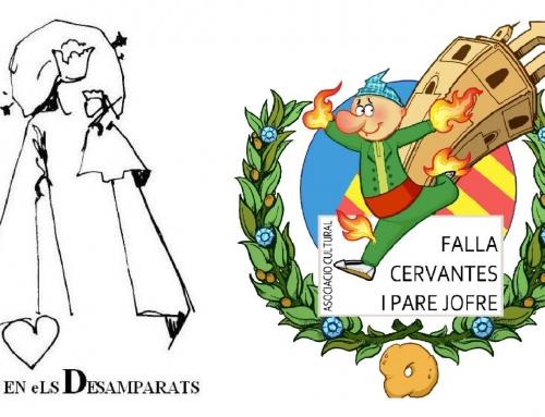 Agradecimiento a la Comisión de la Falla Cervantes Padre Jofre