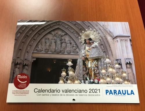 Disponible Calendario Solidario Paraula en favor de Maides 2021